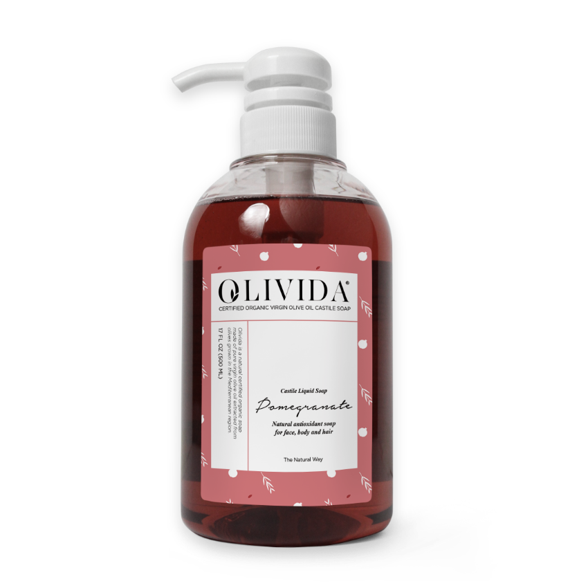 Pomegranate Liquid Soap