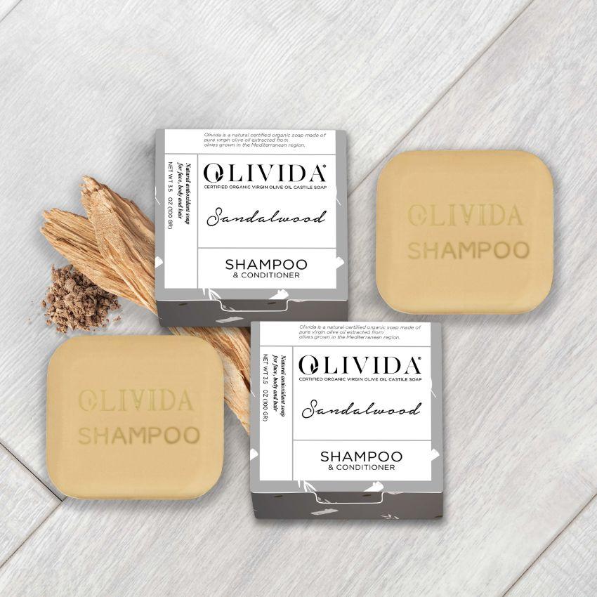 Sandalwood Shampoo & Conditioner Bar