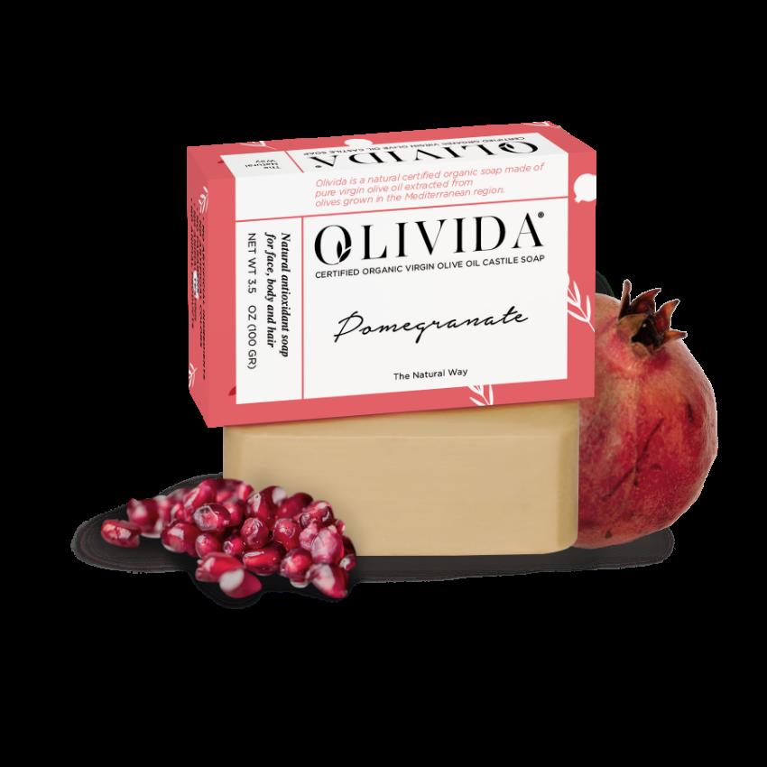 Pomegranate Bar Soap